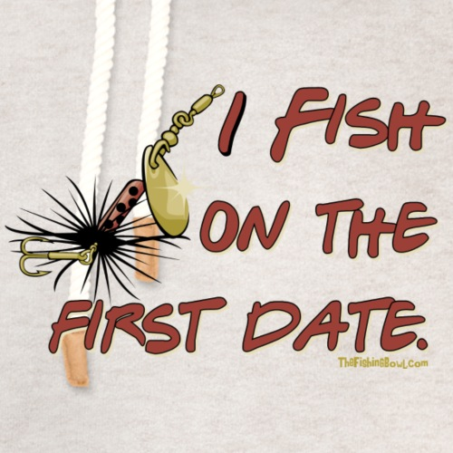 Fish on the First Date - Unisex Shawl Collar Hoodie
