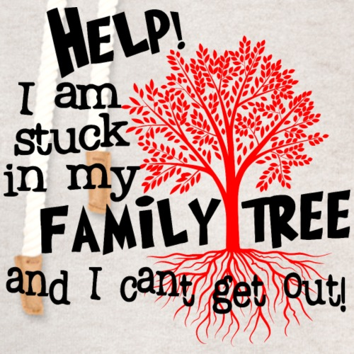 Stuck in my Family Tree - Unisex Shawl Collar Hoodie