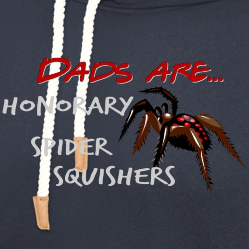 Dads are Honorary Spider Squishers - Unisex Shawl Collar Hoodie
