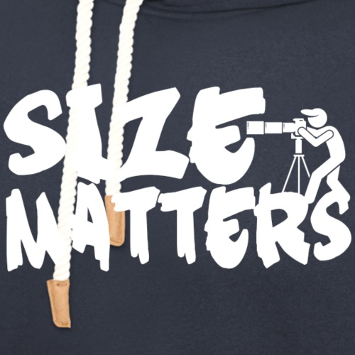 Size Matters Photography - Unisex Shawl Collar Hoodie