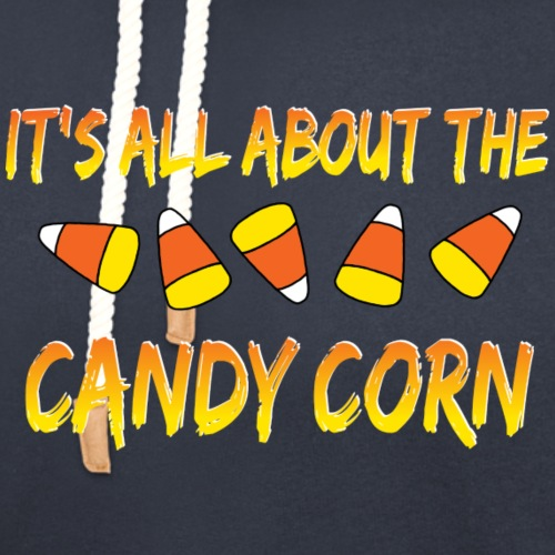 All About the Candy Corn - Unisex Shawl Collar Hoodie
