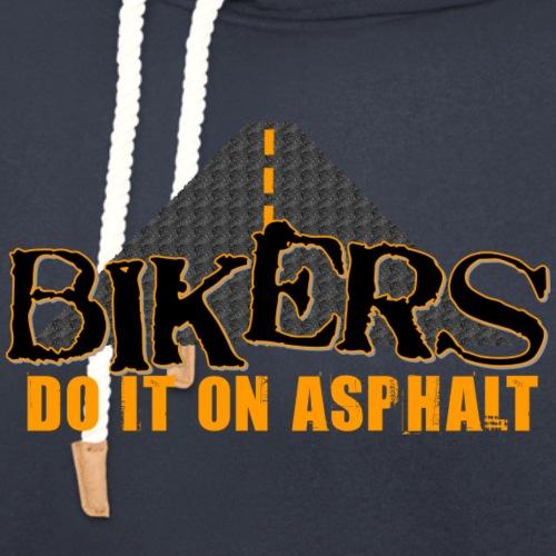 Bikers Do It on Asphalt - Unisex Shawl Collar Hoodie