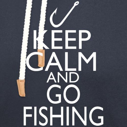 Keep Calm & Go Fishing - Unisex Shawl Collar Hoodie