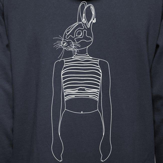 Hipster Rabbit White