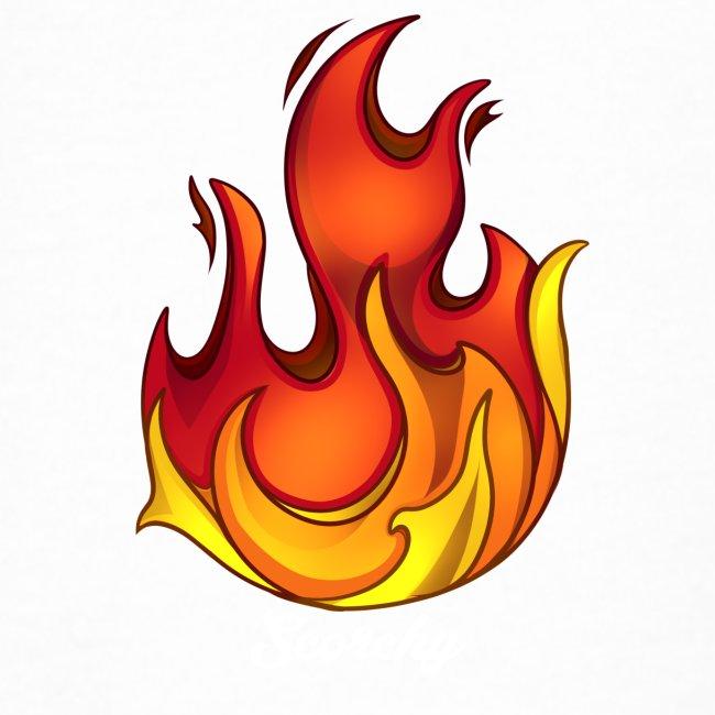Scorchy White Logo