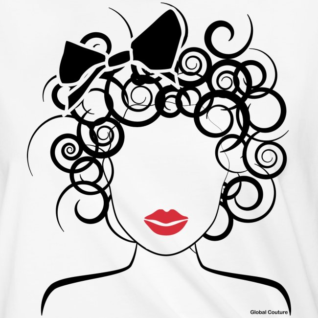 Global Couture logo_curly girl Phone & Tablet Case
