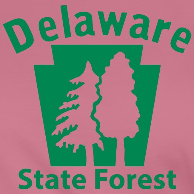 Delaware State Forest Keystone (w/trees)