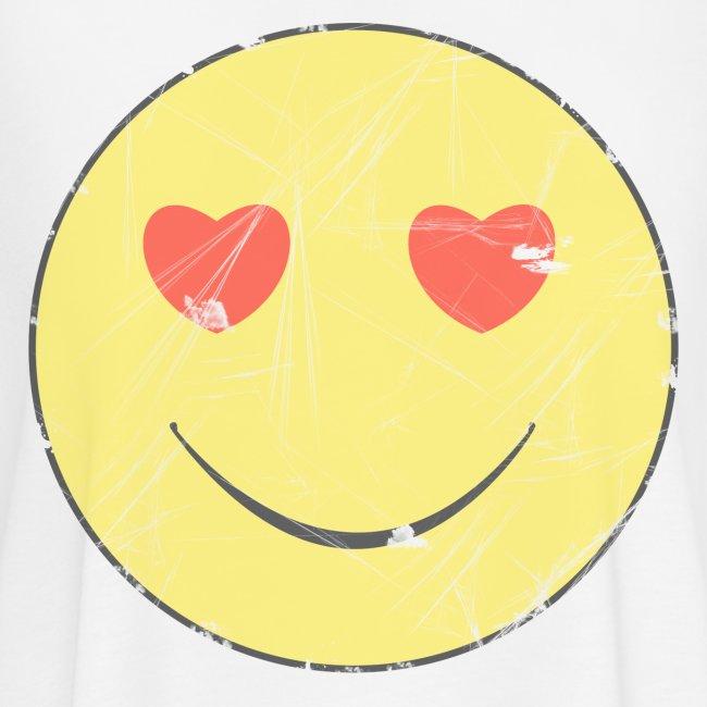 smiley face in love
