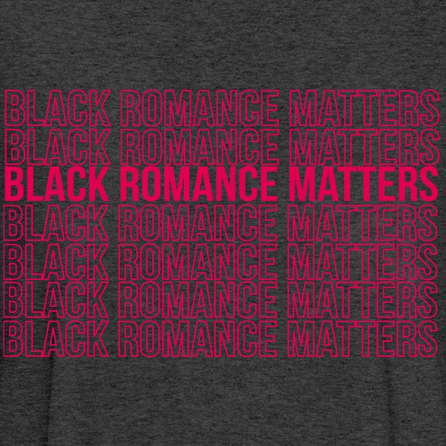 Black Romance Matters Grocery Bag tee