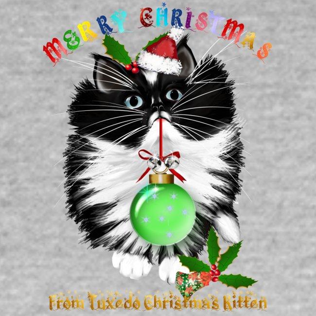 A Tuxedo Kitten Christmas