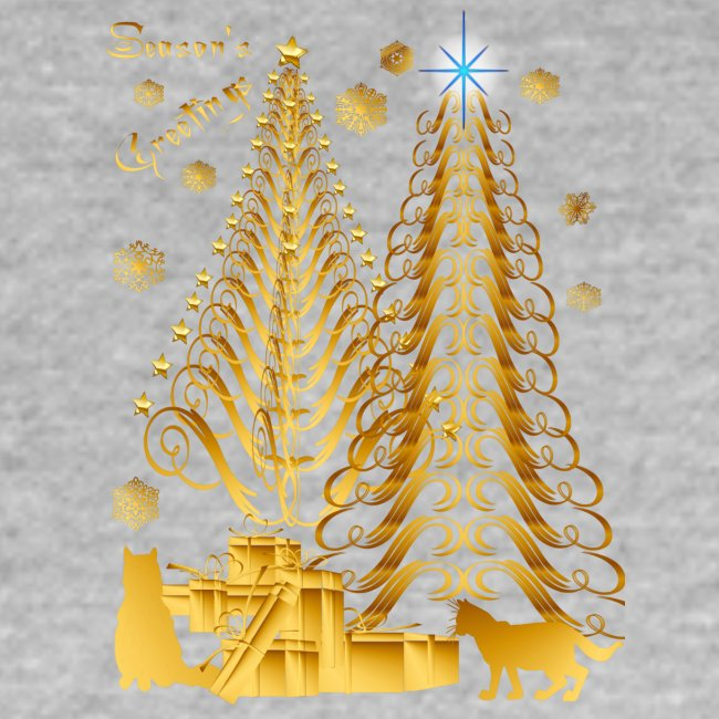 Golden Presents-Gold Kitties