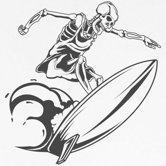 Surfing Skeleton 3