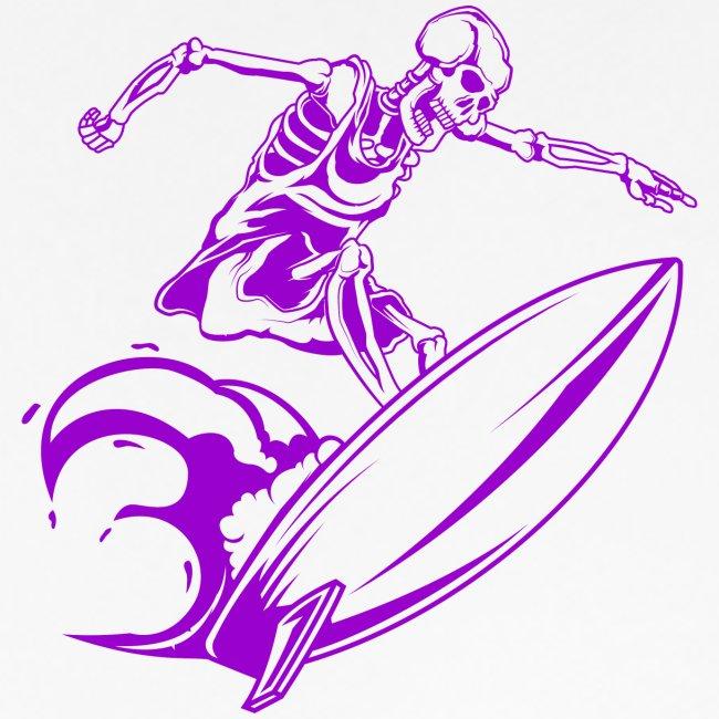 Surfing Skeleton 3b