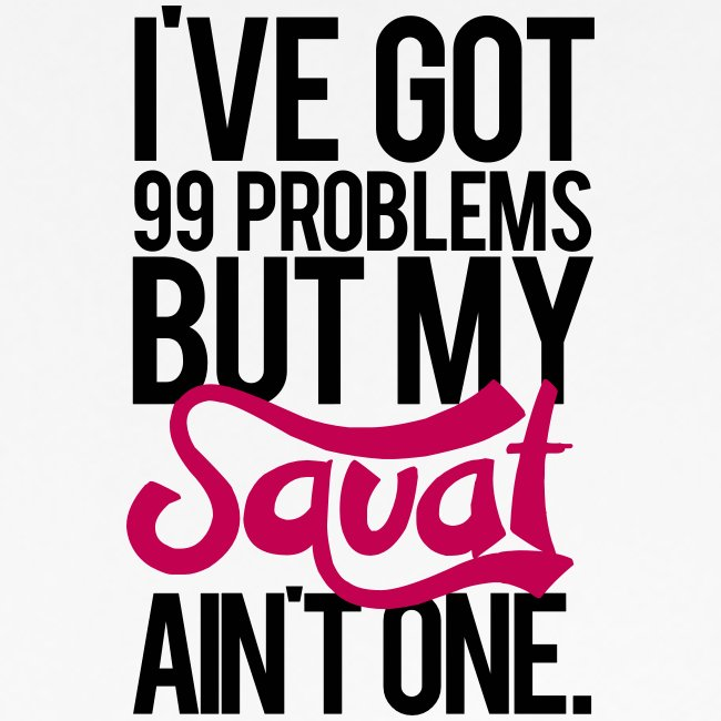 Squat Aint One Gym Motivation
