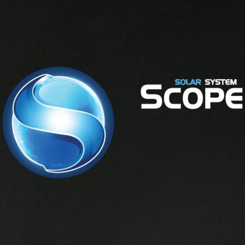 Solar System Scope : Logo With S - Men's Pique Polo Shirt