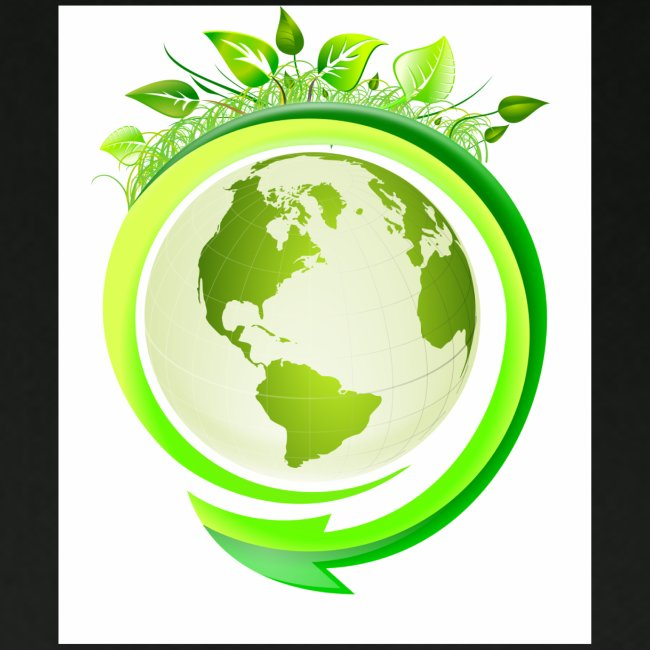 Earth Globe : World Ecology/Earth Day/Green World