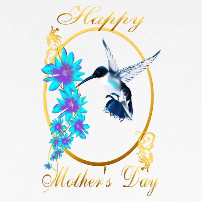 Mother's Day with humming birds