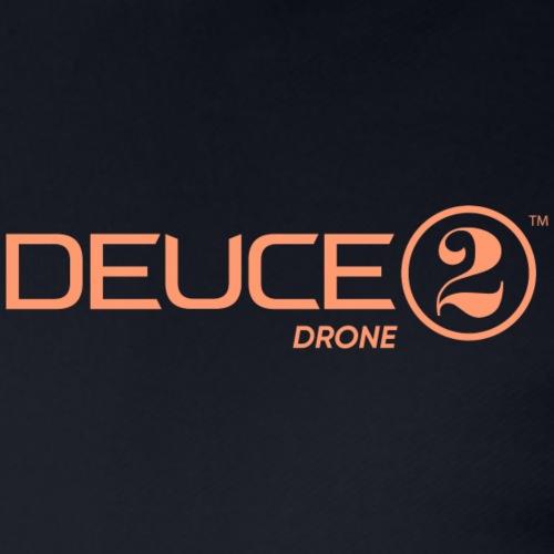 Deuce Drone Full Logo - Men's Pique Polo Shirt