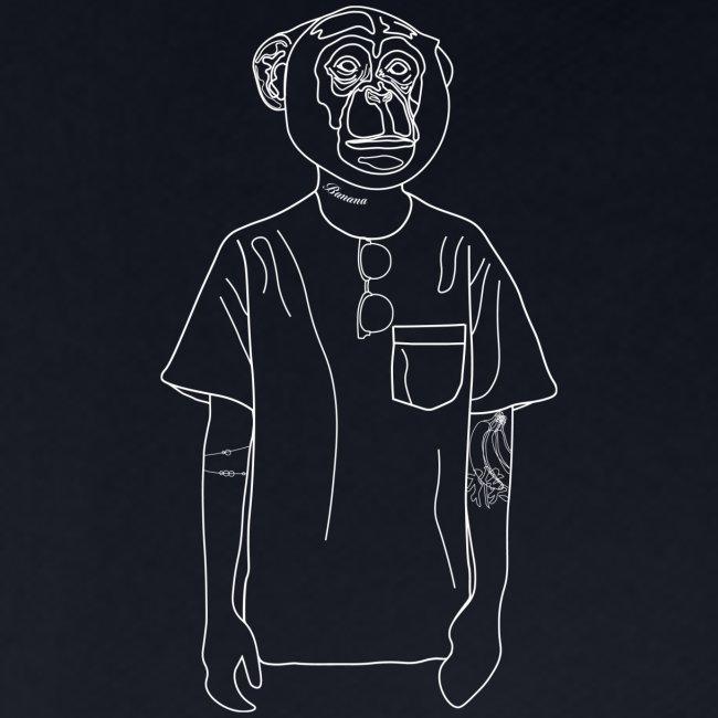Hipster Monkey