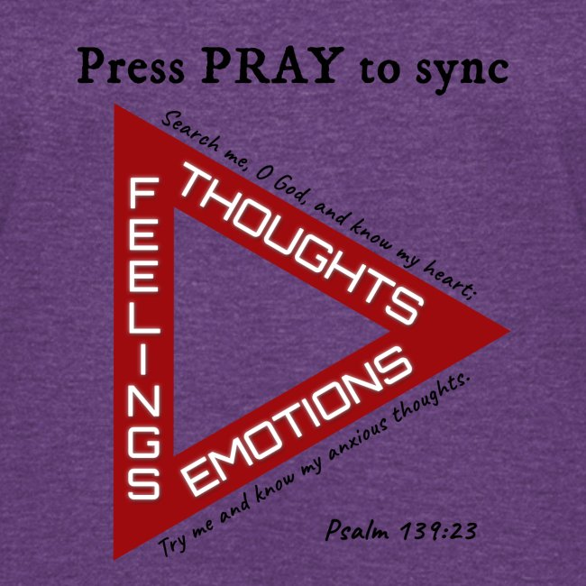 Press PRAY to Sync