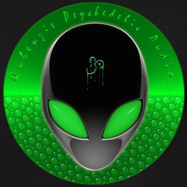 Psychedelic Alien Dolphin Green Cetacean Inspired