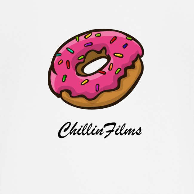CF doughnut black writing