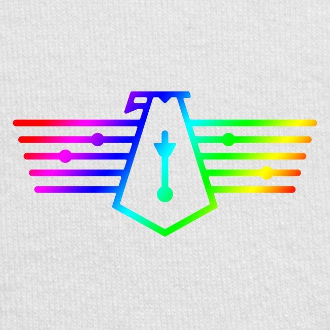 Westport Bird Rainbow on transparent