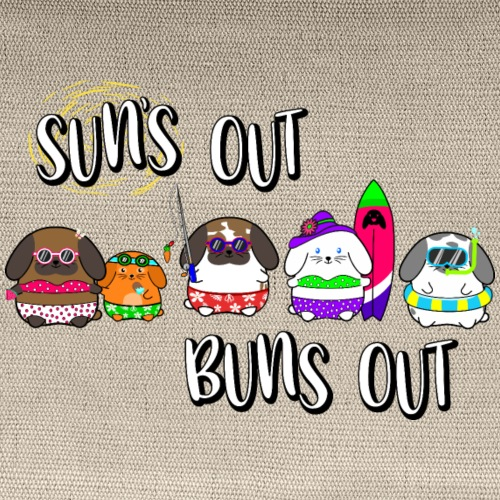 Sun's Out, Buns Out! - Carry All Pouch