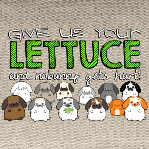 Give us your Lettuce! - Carry All Pouch