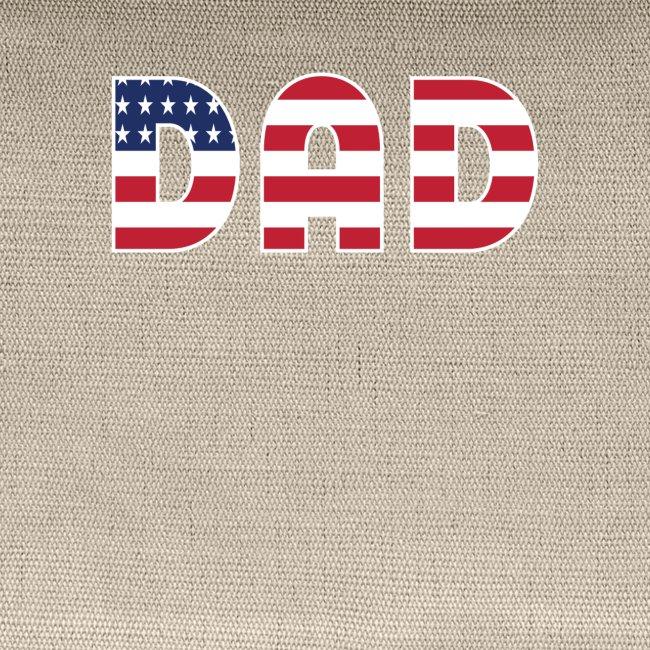 DAD + US Flag