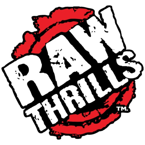 Raw Thrills - Unisex Stars & Stripes T-Shirt