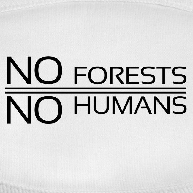 No Forests No Humans