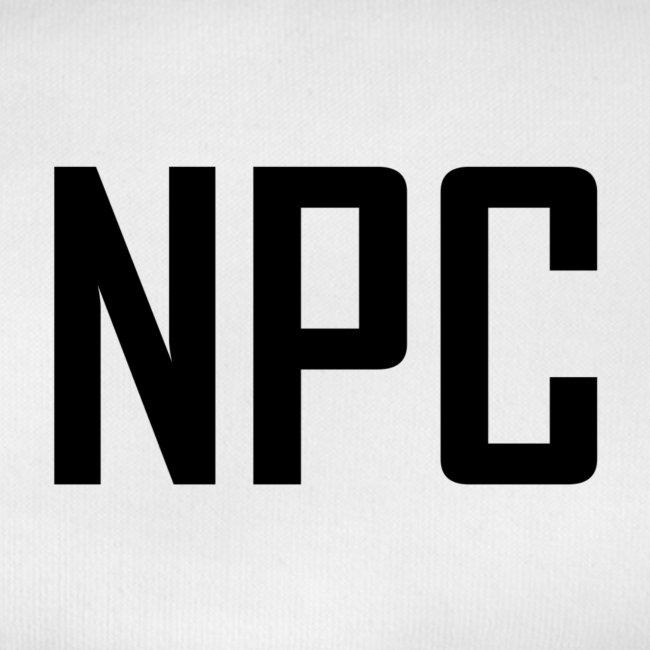 N P C letters logo
