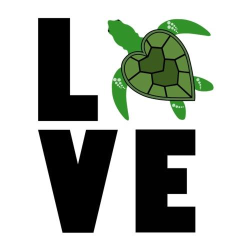 I Love Turtles - Sticker