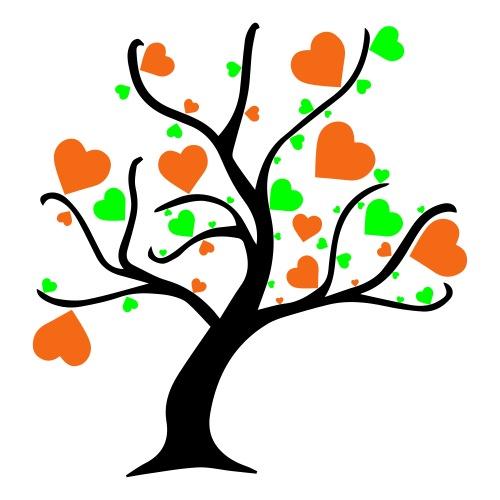 Tree of Hearts - Sticker