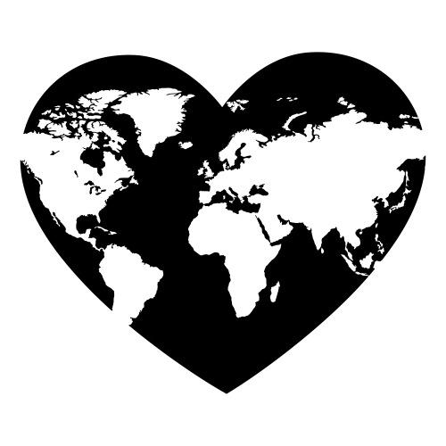 Earth Love - Sticker