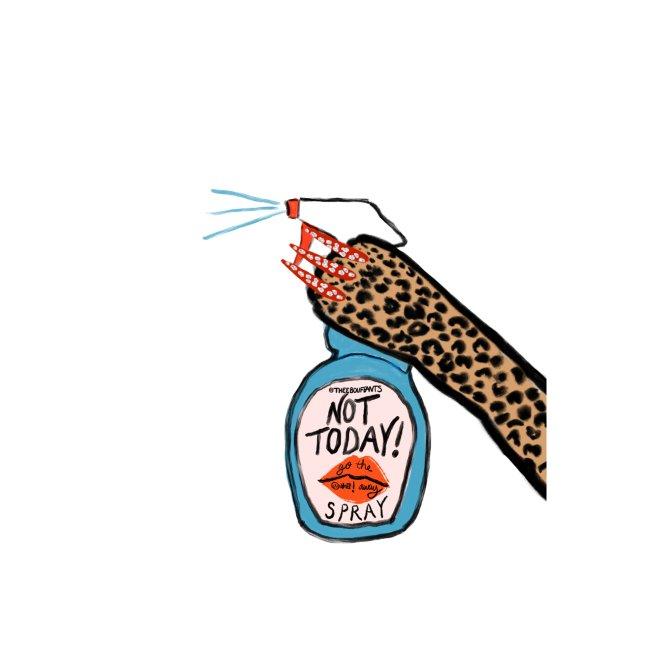 Not Today Spray