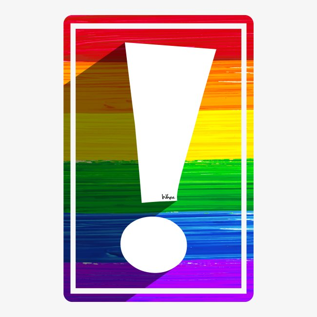 LGBTQ Pride Exclamation Point