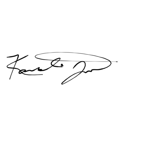 Kavonte Jones -Signature - Founding Member - Sticker