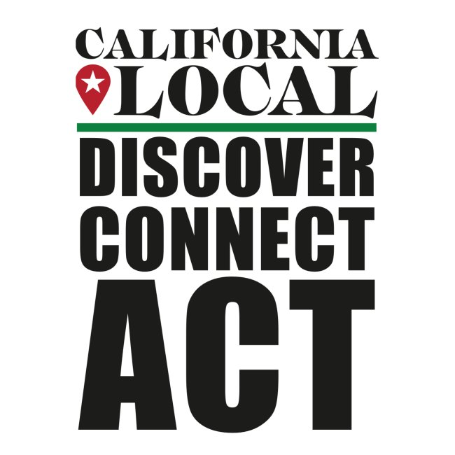 California Local Discover Connect Act Sticker