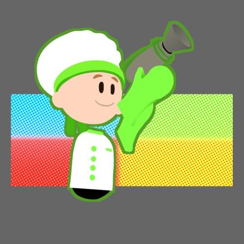 Muffin Fight - Green Shirt