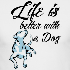 Dog Life - Men's Long Sleeve T-Shirt by Next Level