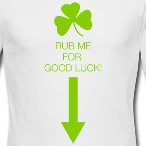 Rub Me for Good Luck - Men's Long Sleeve T-Shirt by Next Level