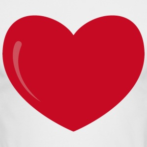 heart-valentines day-love - Men's Long Sleeve T-Shirt by Next Level
