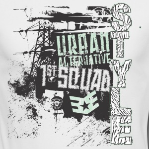 Urban style 1st Squad - Men's Long Sleeve T-Shirt by Next Level
