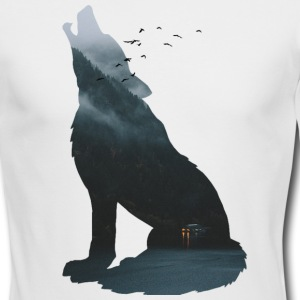 Silent forest - Men's Long Sleeve T-Shirt by Next Level