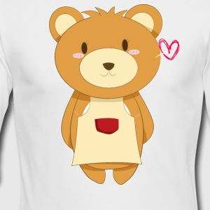Love My Mama Bear - Men's Long Sleeve T-Shirt by Next Level