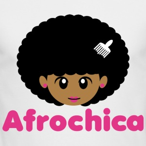Afrochica - Men's Long Sleeve T-Shirt by Next Level