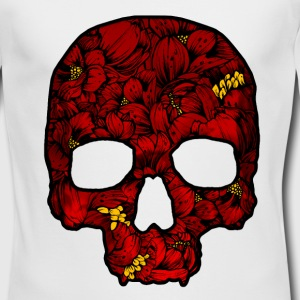 Red Skull - Men's Long Sleeve T-Shirt by Next Level