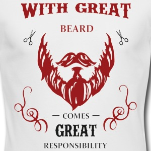 Beard Responsibility - Men's Long Sleeve T-Shirt by Next Level